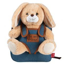 BE MY FRIEND Detský batoh-Zajačik