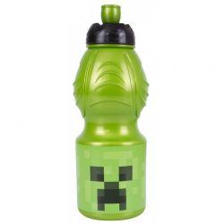 MINECRAFT- Plastová fľaša, 400ml