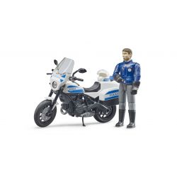 Bruder BWORLD policajná motorka s jazdcom