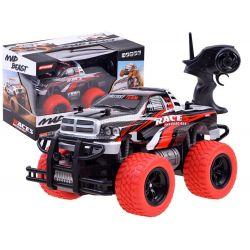 Auto Monster na diaľkové ovládanie červené