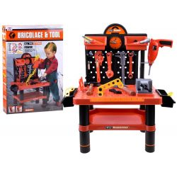 Pracovný stolík + pracovné nástroje