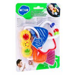 Huile Toys: Hrkálka kľúče so svetlom