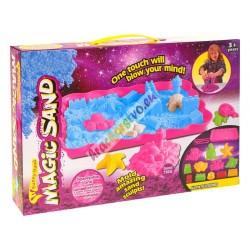 PlaySand - Farebný magický piesok s pieskoviskom + formičky