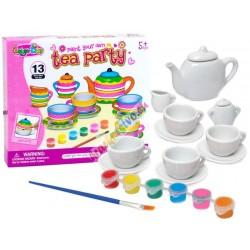 Vymaluj si: Kreativní keramická čajová souprava