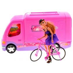 Velký karavan pro panenky typu Barbie