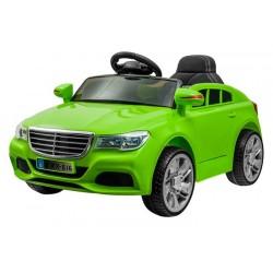 ELCARS sportovní elektrické autíčko styl Mercedes, multifunkční dálkové ovládání, kožená sedačka, EVA kola