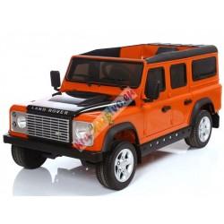 ELCARS elektrické autíčko, licence Land Rover DEFENDER, otevírací dveře