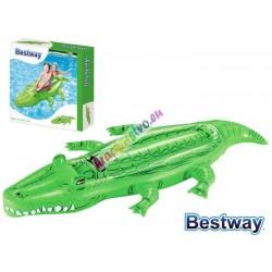 Bestway 41010, detský nafukovací matrac Krokodíl, 168 x 89 cm