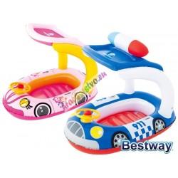 Bestway 34103, detský nafukovací člnok so strieškou, UV filter,