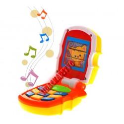 Huile TOYS Telefon pro nejmenší prcky, 6m +