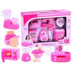 Sada hračkárskych spotrebičov do domácnosti