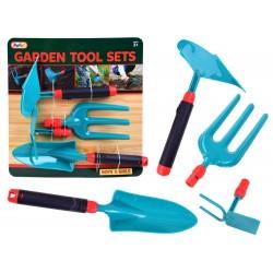 Realistické záhradné náradie 4v1