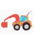 RC traktory a stavební stroje